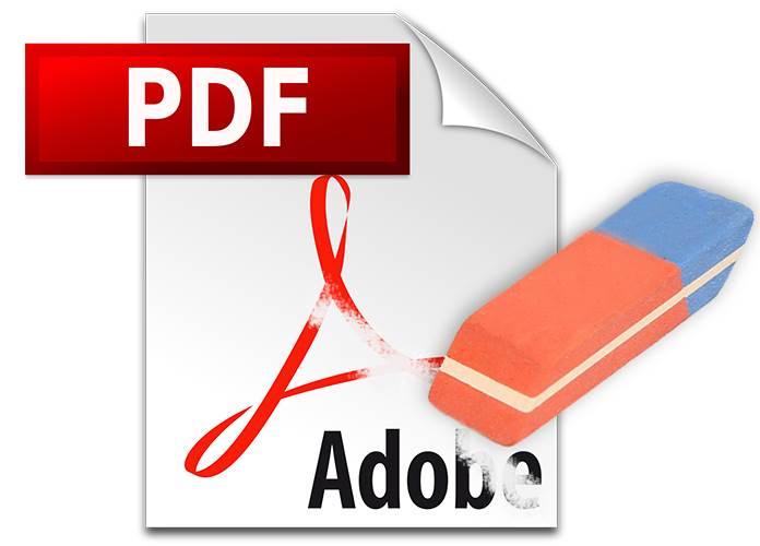 حذف بخشی از متن فایل PDF